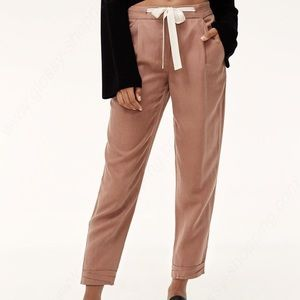 Wilfred Cropped Linen Allant Pant